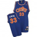 Maillot bleu des hommes Throwback NBA Shaquille o ' Neal Swingman - Mitchell et Ness Cleveland Cavaliers & 33 SVCC