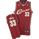 Maillot rouge des hommes Throwback NBA Shaquille o ' Neal Swingman - Adidas Cleveland Cavaliers & 33