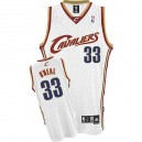 Maillot blanc NBA Shaquille o ' Neal Throwback authentique masculin - Adidas Cleveland Cavaliers & 33