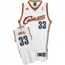 Maillot blanc des hommes Throwback NBA Shaquille o ' Neal Swingman - Adidas Cleveland Cavaliers & 33