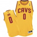 NBA Kevin Love maillot or masculine authentique - Adidas Cleveland Cavaliers 0 suppléant