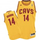 Jersey or de NBA Terrell Brandon authentiques hommes - Adidas Cleveland Cavaliers & 14 suppléant