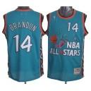 NBA Terrell Brandon Throwback authentique masculin lumière maillot bleu - Mitchell et Ness Cleveland Cavaliers & 14 1996 All Sta