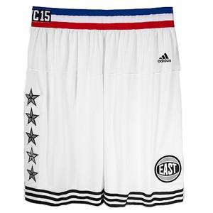 Shorts 2015 NBA All-Star NYC Conférence Est Blanc