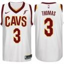 saison Isaiah Thomas Cleveland Cavaliers &3 Association maillot blanc
