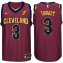 2017-18 saison Isaiah Thomas Cleveland Cavaliers &3 icône maillot de vin