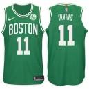 2017-18 Kyrie Irving Boston Celtics &11 Vert maillots