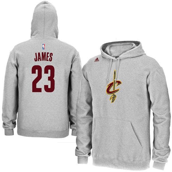 James Cavaliers Gris Cleveland Adidas Hommes NomNuméro Lebron c543RLAqj