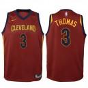 Enfants 2017-18 saison Isaïe Thomas Cleveland Cavaliers &3 icône marron échangiste maillot