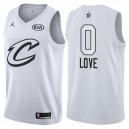 All-Star hommes cavaliers Kevin Love &0 maillot blanc