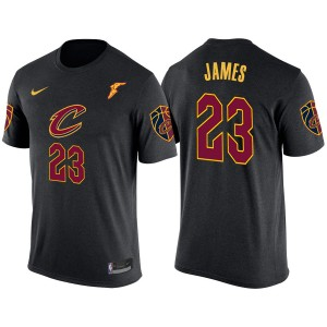 Cleveland Cavaliers Lebron James &23 déclaration T-shirt noir