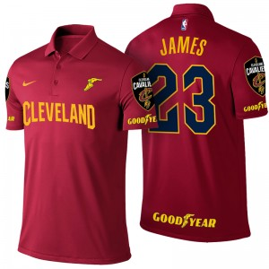 Cavaliers Lebron James &23 Polo à vin