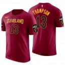 Cleveland Cavaliers pour hommes ^ 13 T-shirt en jersey avec nom et numéro d'icône Tristan Thompson Wine