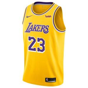 Maillot de Los Angeles Lakers LeBron James Icon Edition swingman