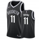 Hommes Kyrie Irving &11 Brooklyn Nets Noir NBA Swingman Maillot