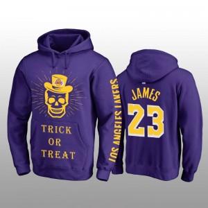 Sweat-shirt à capuche violet Lesquois LeBron James pourpre
