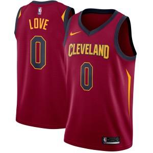 Maillot Nike Love Marron Swingman Kevin Love de Cleveland Cavaliers pour hommes - Édition Icon