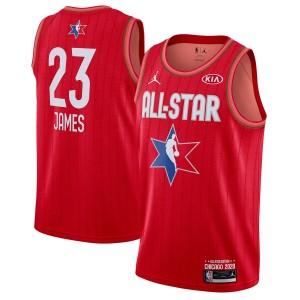 Jordan Brand LeBron James Rouge 2020 NBA All-Star Jeu Swingman Fini Maillot
