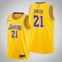 Maillot icône d'or des Lakers de Los Angeles J.R. Smith