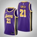 Los Angeles Lakers J.R. Smith Purple Déclaration Maillot