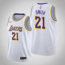 Maillot de l'Association Blanche des Lakers de Los Angeles J.R. Smith