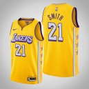 Maillot de Los Angeles Lakers J.R. Smith Or City