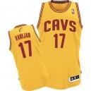 Jersey or de NBA Anderson Varejao authentiques hommes - Adidas Cleveland Cavaliers & remplaçant 17