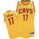 Maillot or NBA Anderson Varejao Swingman masculine - Adidas Cleveland Cavaliers & remplaçant 17