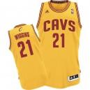 Jersey or de NBA Andrew Wiggins authentiques hommes - Adidas Cleveland Cavaliers & remplaçant 21