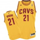Maillot or Andrew Wiggins NBA Swingman masculine - Adidas Cleveland Cavaliers & remplaçant 21