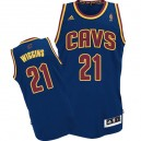 Jersey bleu marine Andrew Wiggins NBA Swingman masculine - Adidas Cleveland Cavaliers & 21 CavFanatic