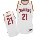 Maillot blanc Andrew Wiggins NBA Swingman masculine - Adidas Cleveland Cavaliers & 21 Accueil