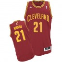 Maillot rouge vin Andrew Wiggins NBA Swingman masculine - Adidas Cleveland Cavaliers & route 21