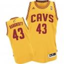 Jersey or de Brad Daugherty NBA authentiques hommes - Adidas Cleveland Cavaliers & remplaçant 43