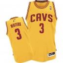 Jersey or de NBA Dion serveurs authentiques hommes - Adidas Cleveland Cavaliers & suppléant 3
