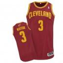 Maillot rouge vin de NBA Dion serveurs authentiques hommes - Adidas Cleveland Cavaliers & Road 3